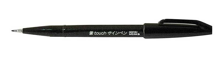 Pentel Brush Sign Pen Touch SES15