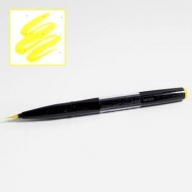 Кисть Pentel Brush Sign Pen Artist SESF30C - Кисть Pentel Brush Sign Pen Artist желтая SESF30C-G