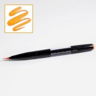 Кисть Pentel Brush Sign Pen Artist SESF30C - Кисть Pentel Brush Sign Pen Artist оранжевая SESF30C-F