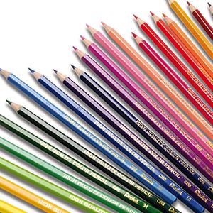 Цветные карандаши и мелки